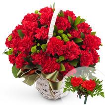 카네이션꽃바구니-한없는은혜