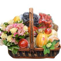 특대형고급사각 과일꽃바구니-10
