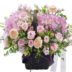 핑크꽃바구니 가람1