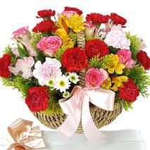 은혜감사 꽃바구니