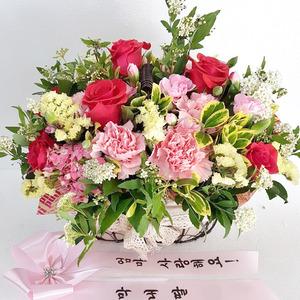 감사꽃바구니 하프29